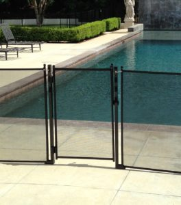 2 Piece Pool Guard gate