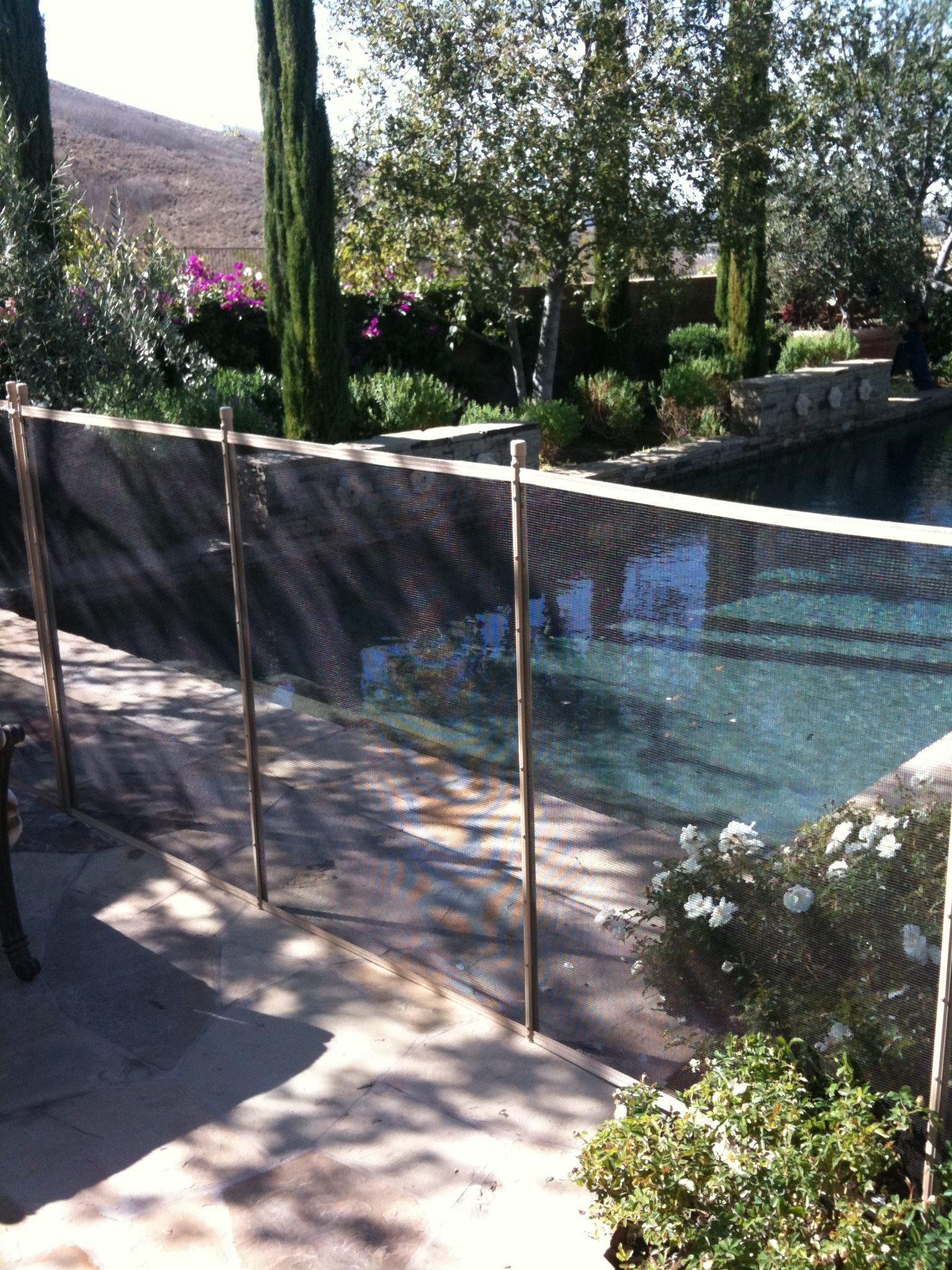 Removable Pool Fence pool safety pet fence - orange county pool guardorange county pool