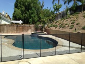 Mesh pool fence Fullerton
